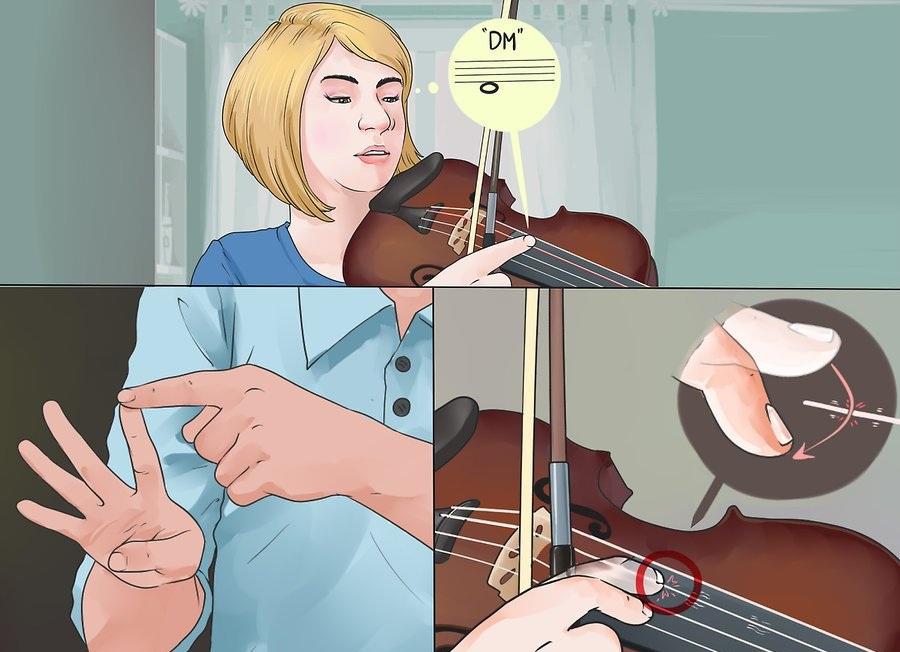 Làm sao có thể gảy dây Pizzicato trong đàn violin